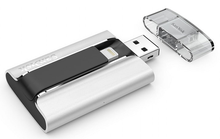 SanDisk's newest iOS storage drive comes with Lightning, too