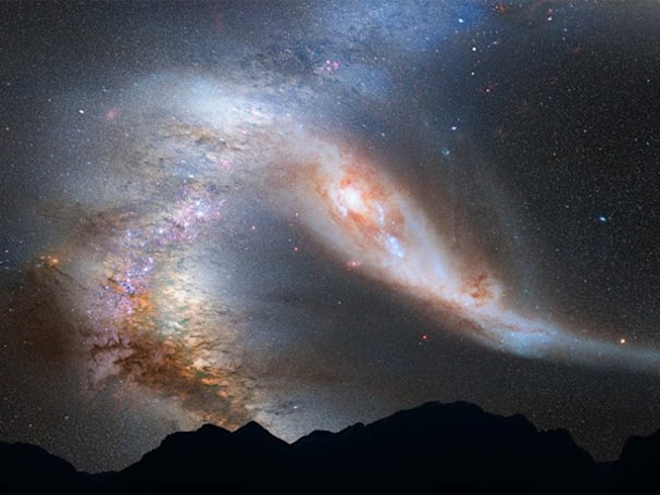 Hubble reveals unavoidable collision between our galaxy and Andromeda