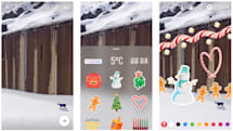 Instagram Stories gets stickers and forced holiday cheer