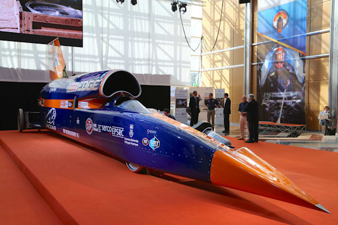 A video tour of the 1,000MPH Bloodhound supersonic car