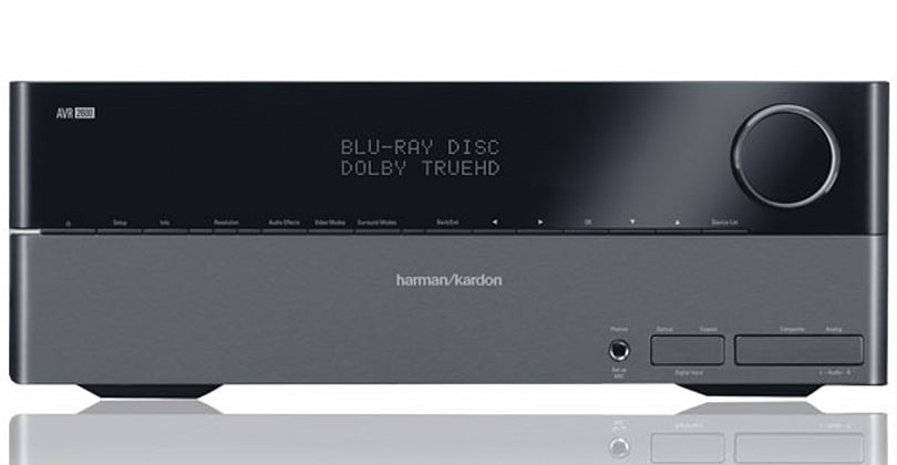 Harman Kardon resets its AV receiver line with AVR 1600, 2600 and 3600 models