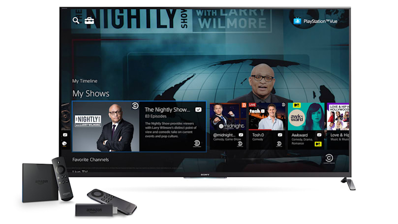 PlayStation Vue internet TV is coming to Chromecast and Amazon