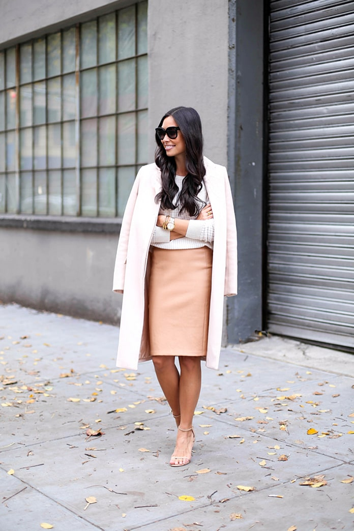 Shop the street style look: A pink coat