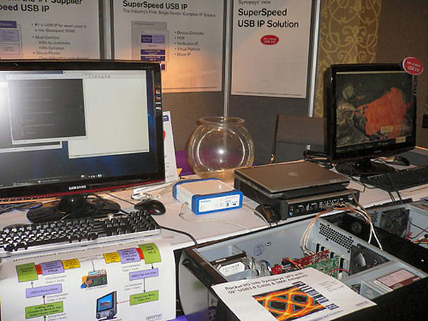 USB 3.0 demonstrations dazzle: uncompressed 1080p transfer proves simple