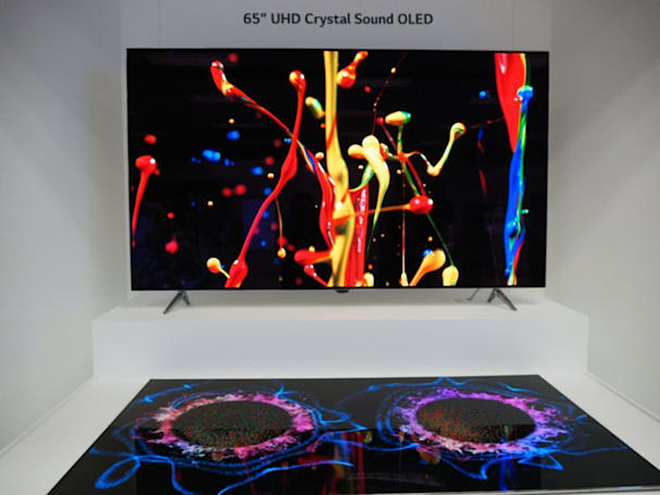 LG Display's new OLED TV panels bake in the sound system