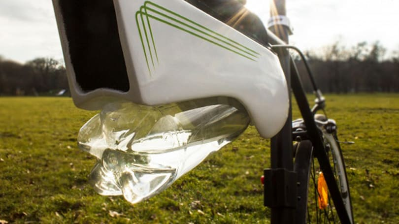 Solar power will give you non-stop water during bike rides