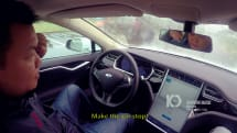 Hackers were able to remotely control a moving Tesla Model S