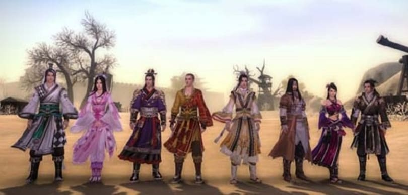 The Art of Wushu: Tricks of the royal chains