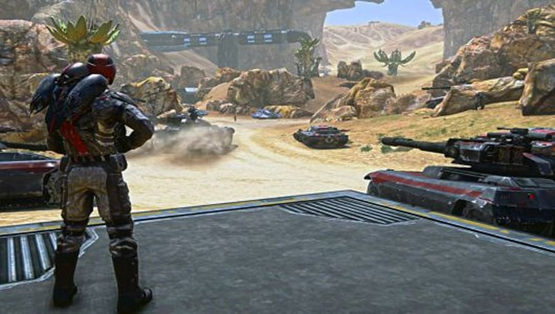 PlanetSide 2 is letting players make the missions
