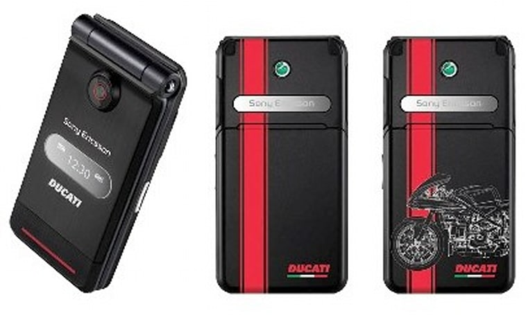 Sony Ericsson busts out a Ducati-themed Z770