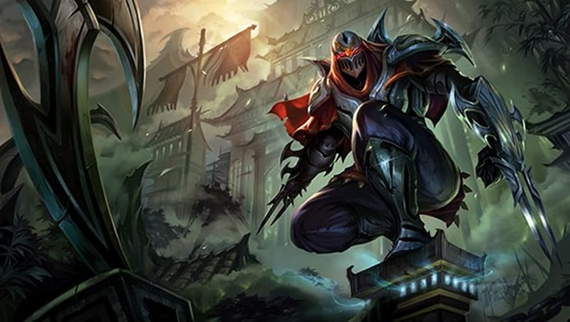 League of Legends unveils Zed, the Master of Shadows