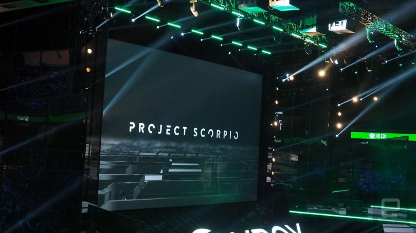 Microsoft announces a new super-powered Xbox console: Project Scorpio