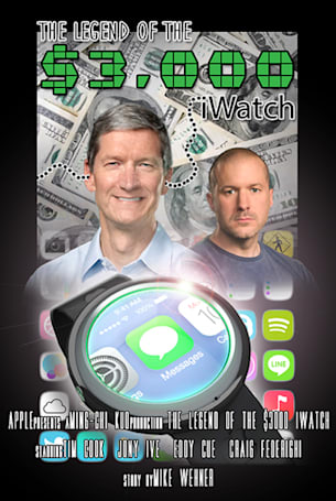 Ming-Chi Kuo and The Legend of the $3,000 iWatch
