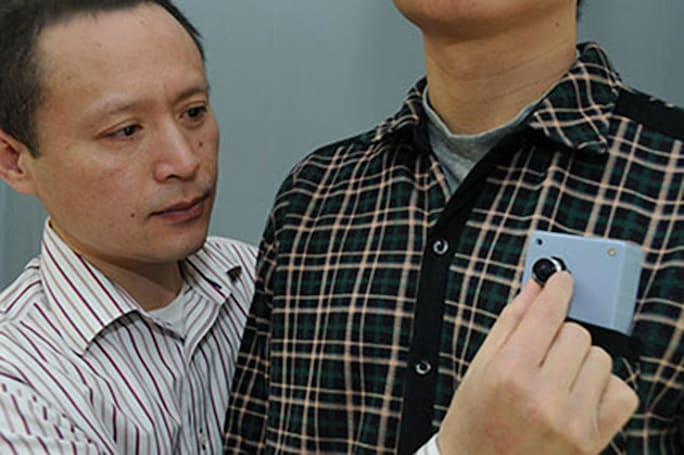 Pocket camera helps the visually impaired navigate the world