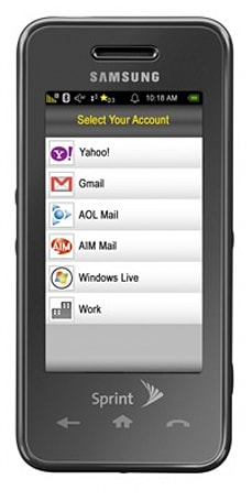 "Sprint's ""Mobile Mail Work"" brings corporate mail to non-PDA devices"