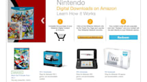 Nintendo opens digital download store on Amazon