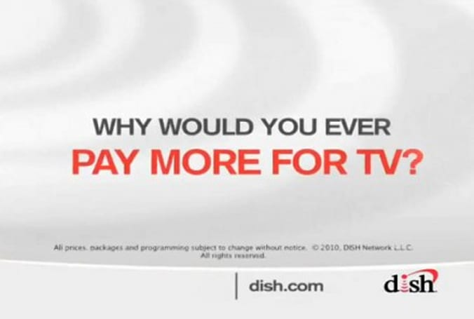 DirecTV suing Dish Network over Why Pay More ads, says there's plenty of reasons