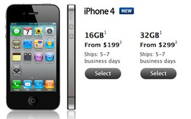 iPhone 4 shipping times improved