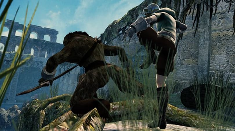 Caption this, win a white Vindictus wolf hood! [Updated 11/5]