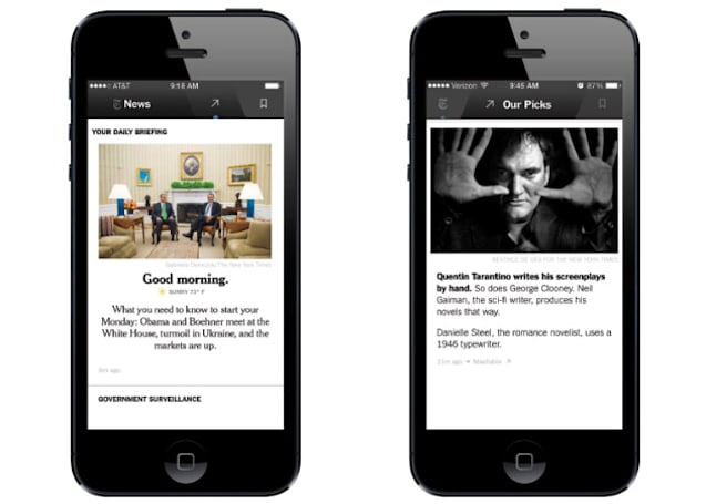 NYT's curated news app will shut down next month