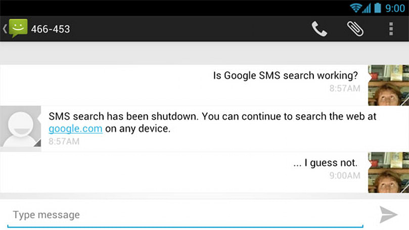 Google drops SMS Search, nudges basic phone users toward smartphones