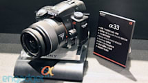 Sony Alpha A55 and A33 hands-on