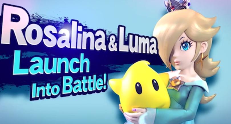 Rosalina, Luma to pummel little ones in Super Smash Bros.
