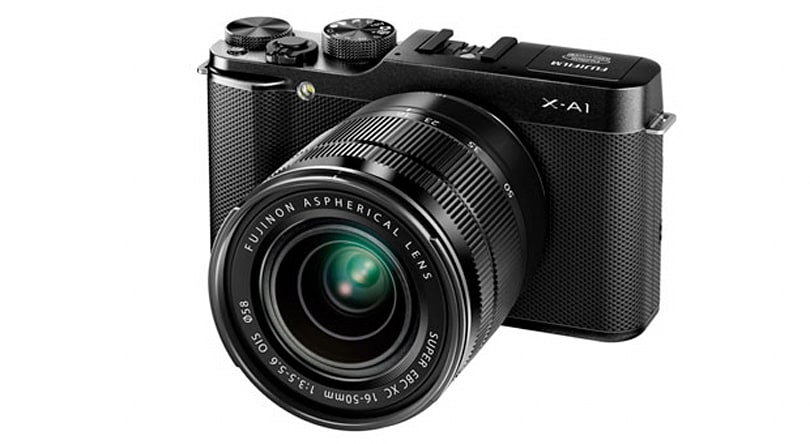 Fujifilm's X-A1 mirrorless ILC arriving this month with 16.3-megapixel APS-C sensor, $600 price