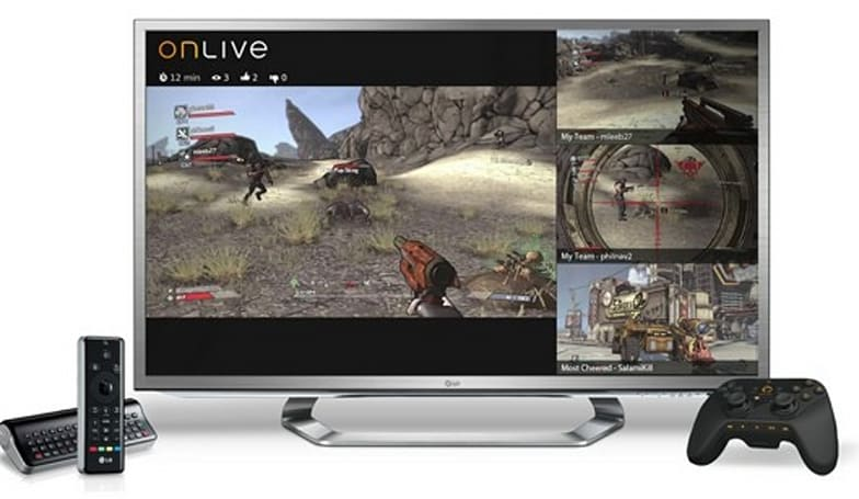OnLive comes to LG G2 Smart TVs