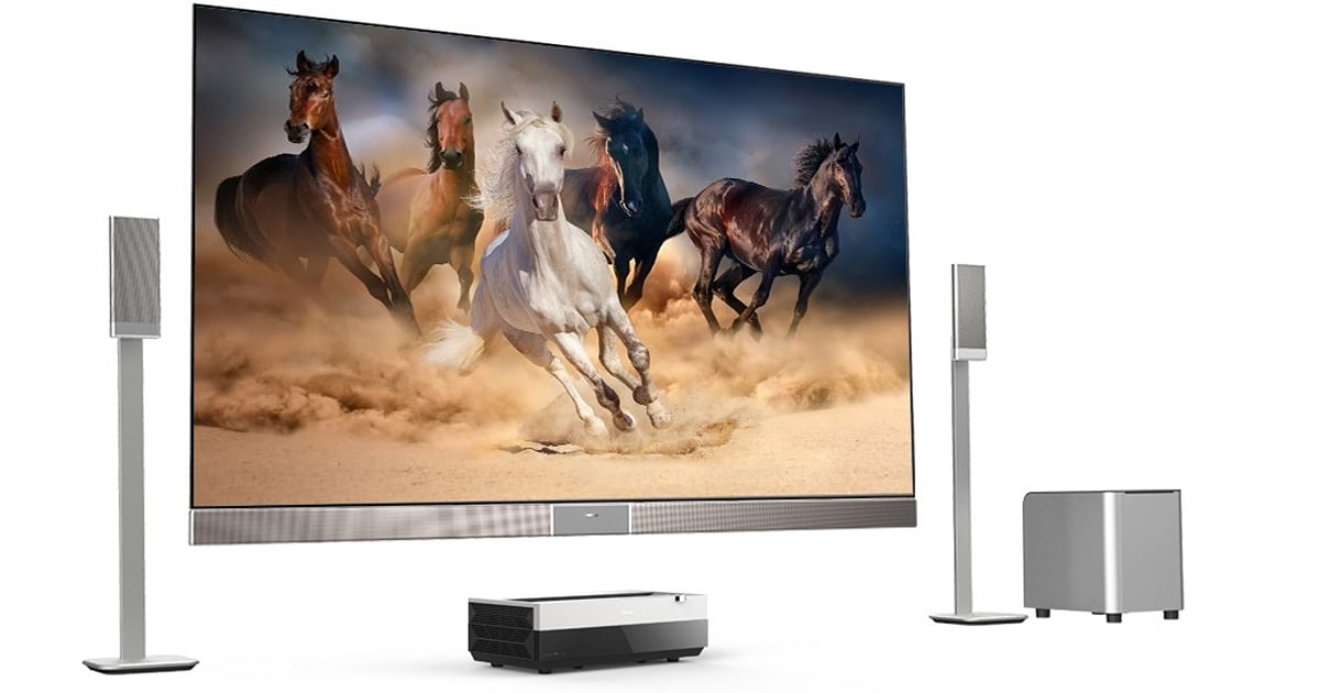 Hisense S Laser Projector Promises A 100 Inch 4k Screen