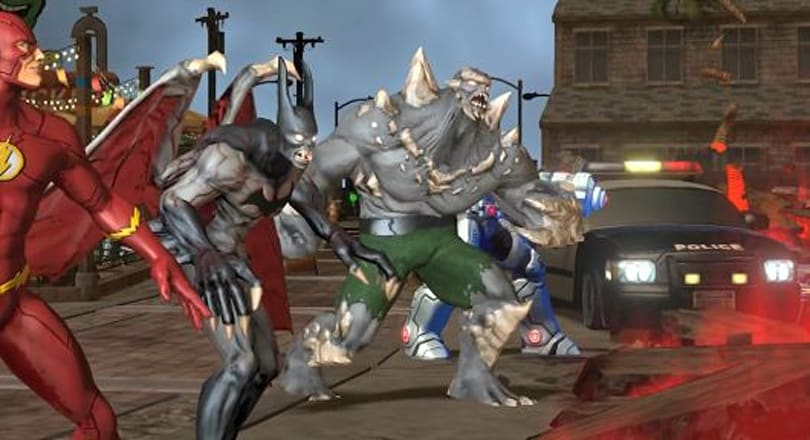 Infinite Crisis shows off what's going on behind the scenes