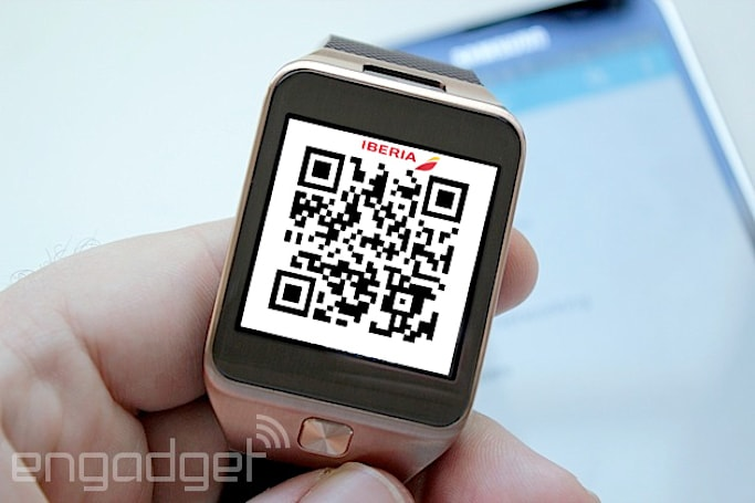 Samsung and Iberia team up to put boarding passes on smartwatches