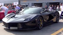 Ferrari's hybrid commits sacrilege, rolls in electric-only mode