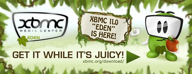 XBMC Eden officially steps out of beta, available for download now