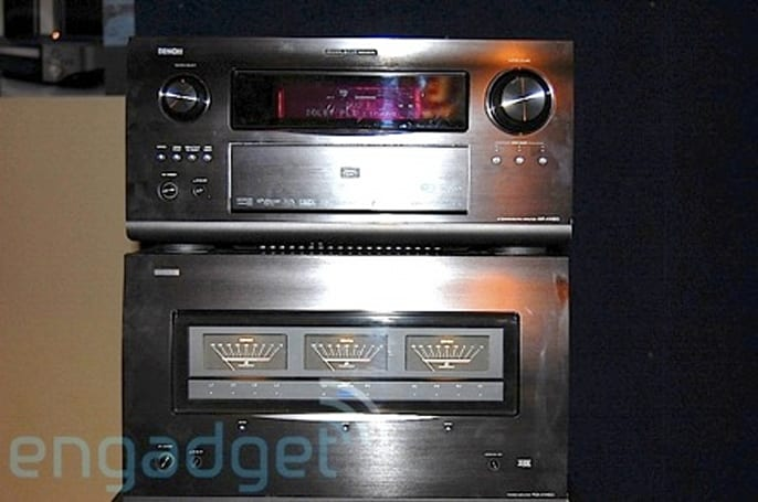 Hands-on with Denon's super-separates
