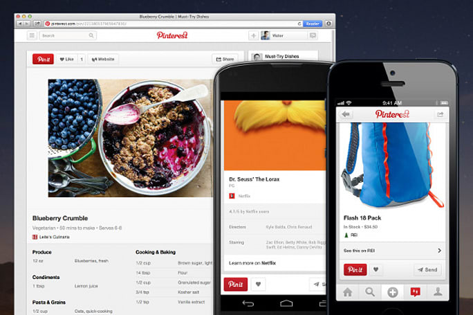 Pinterest adds more data to your boards with rich pins