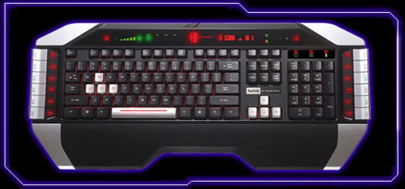 Saitek offers up Cyborg Keyboard for the gamer in you