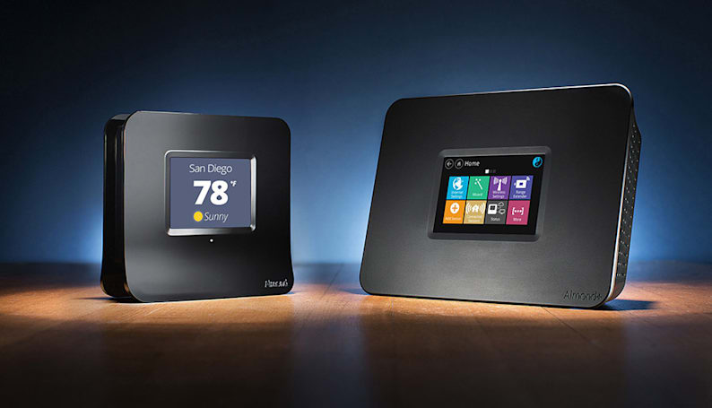 Touchscreen-enabled routers double as home automation hubs