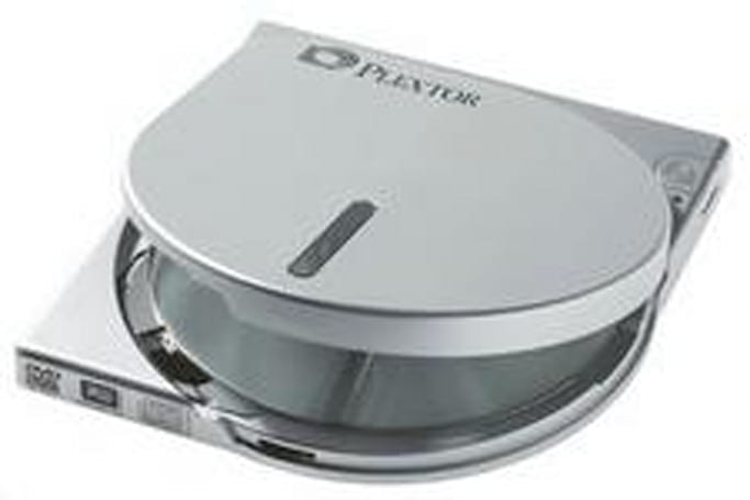 Plextor preps 'world's smallest' external DVD burner