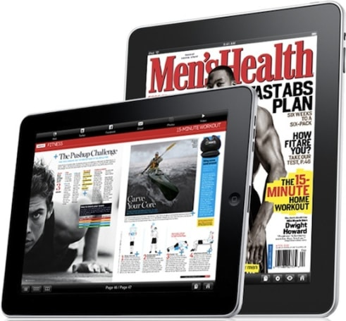 Men's Health magazine comes to the iPad