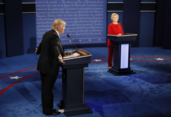 The first presidential debate broke multiple internet records
