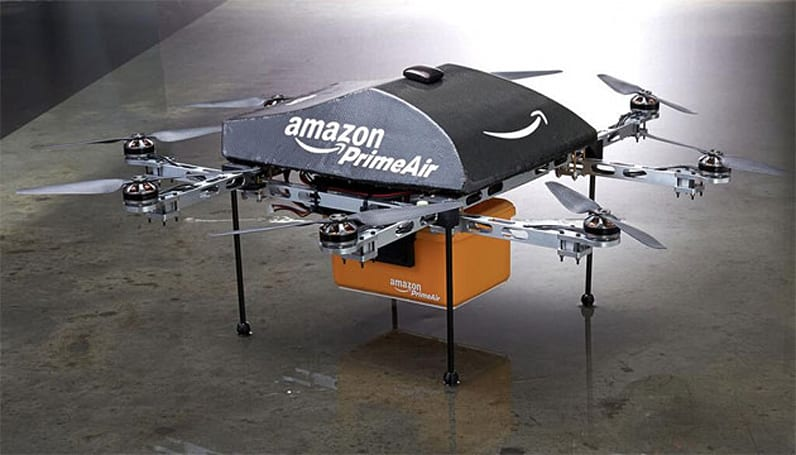 Yes, Amazon's delivery drones are real (maybe)