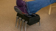 Evil Mad Scientist Laboratories builds a 555 chip you can rest your feet on
