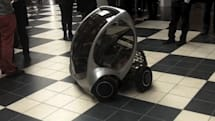 MIT's folding CityCar takes a spin on video, still no room for humans