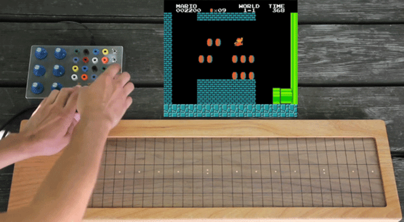 Super Mario Spacetime Organ lets you remix the plumber's world