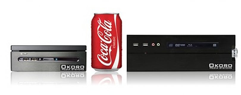 Okoro delivers mini Media PCs with a full size price tag
