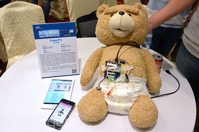 Acer's smart diaper sniffs out baby troubles