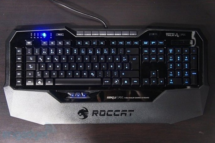 ROCCAT ISKU FX keyboard ships worldwide, lights up gaming for $100