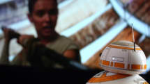 You can watch 'Star Wars: The Force Awakens' with BB-8