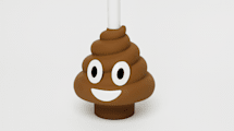 Emoji-Pömpel gegen Verstopfung
